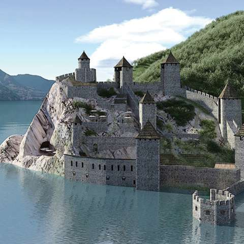 Cover photo of StoryCard  Fortaleza de Golubac